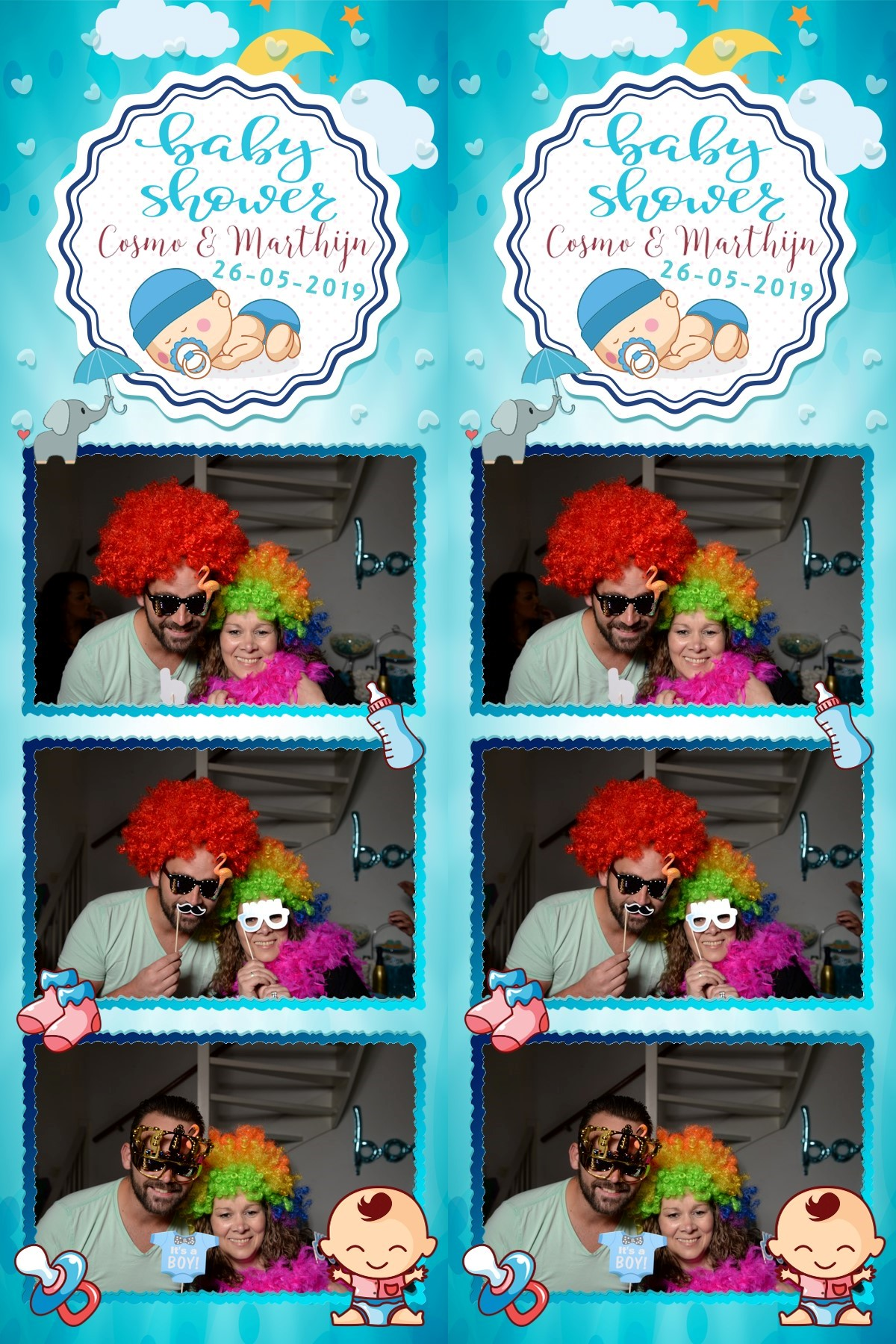 photostrip babyshower