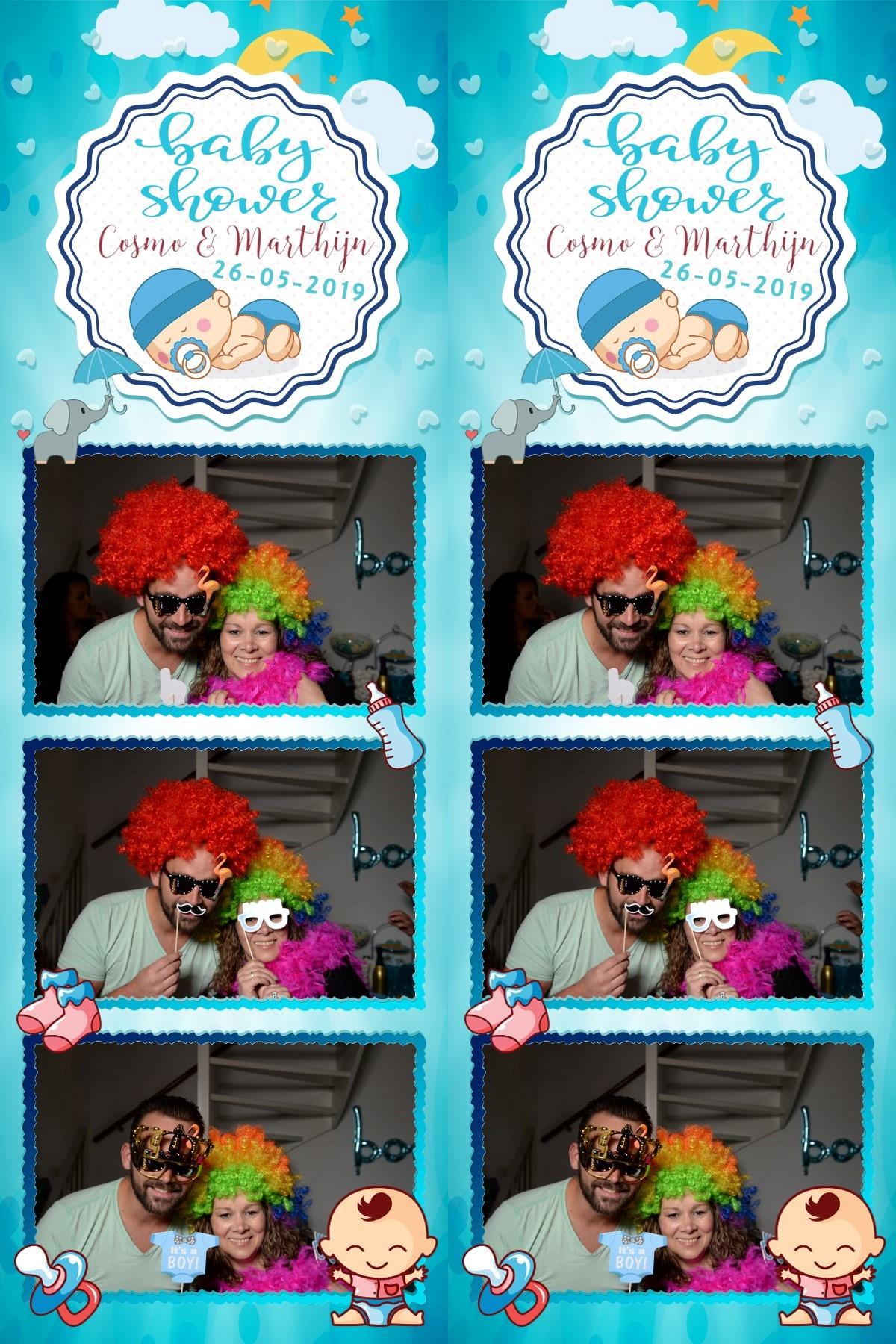 photostrip babyshower